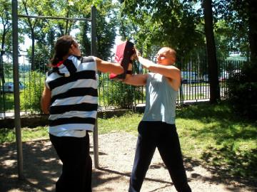 Trening personalny z elementami samoobrony