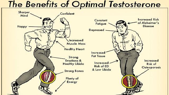 Testosteron i jego pozytywne działanie na organizm